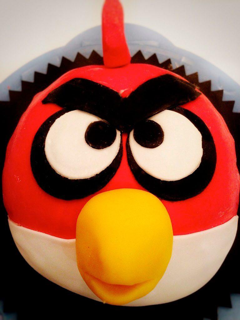 Angry-Birds-täytekakku
