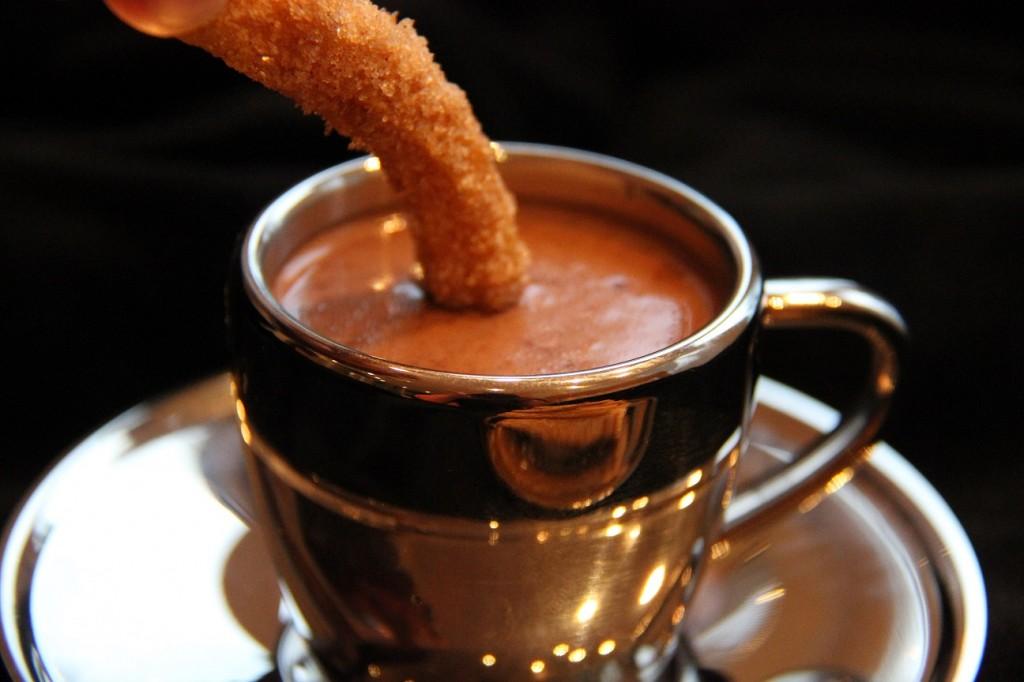 Churrot suklaadipillä