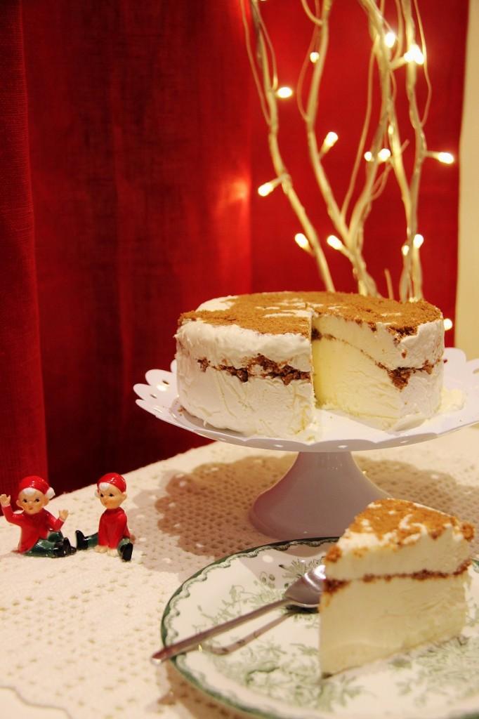 Joulun juustokakku