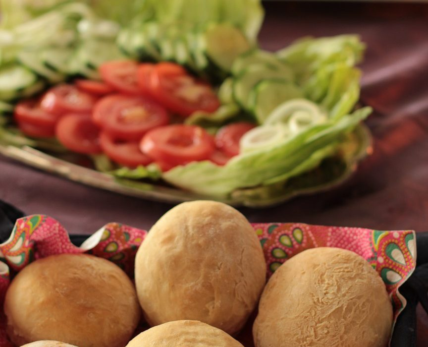 Pita-Burgersämpylät