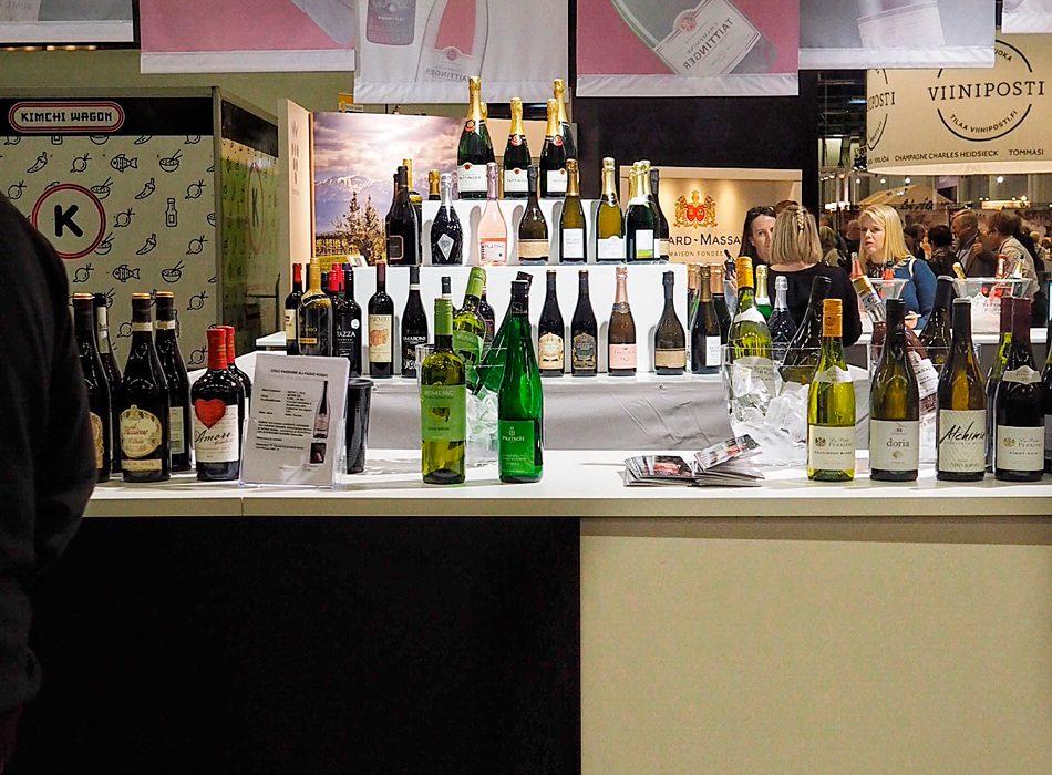 Viini ja ruoka tapahtuma