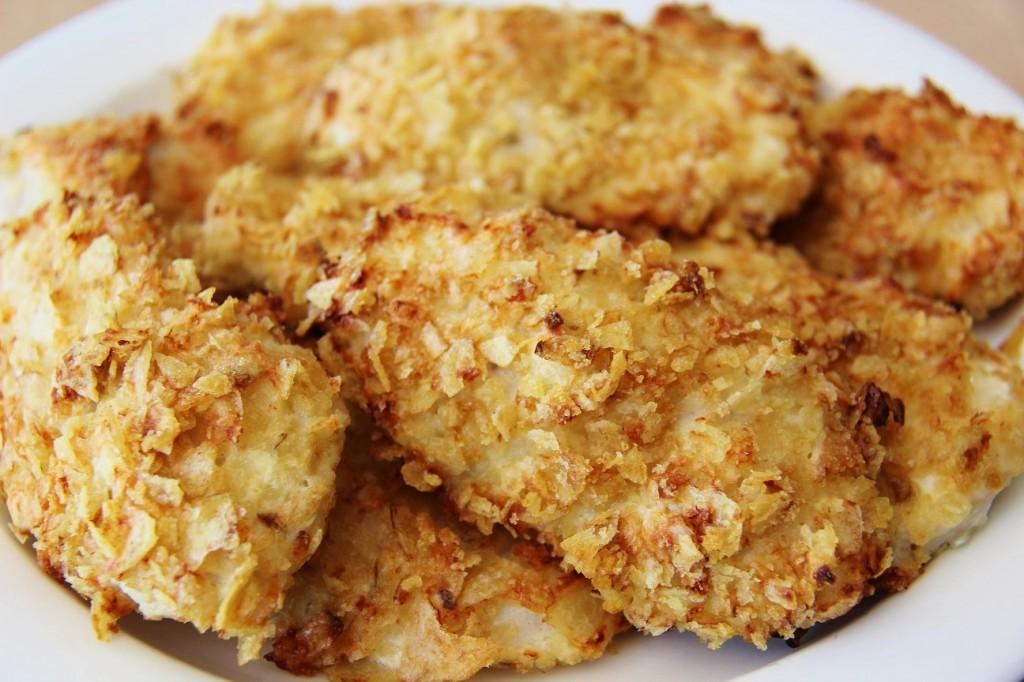 chipsi kuorrutetut kanafileet