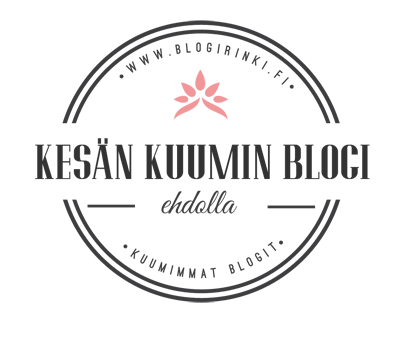 Kesän kuumin blogi kilpailu