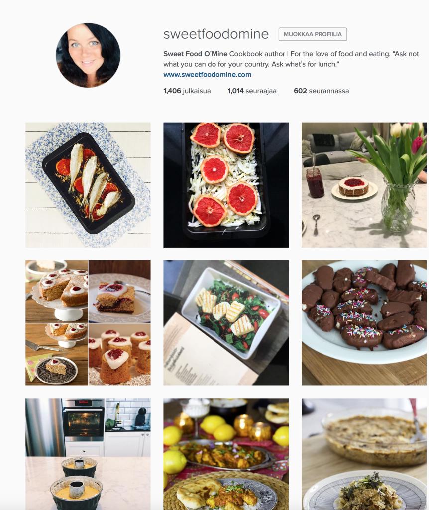 sweetfoodomine instagram