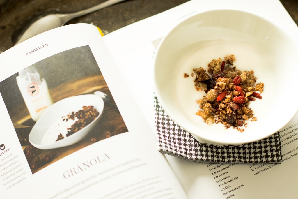 granolaa-aamupalalle