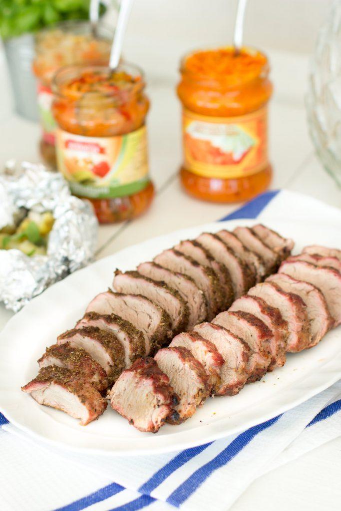 Iberico-possua-grillissä
