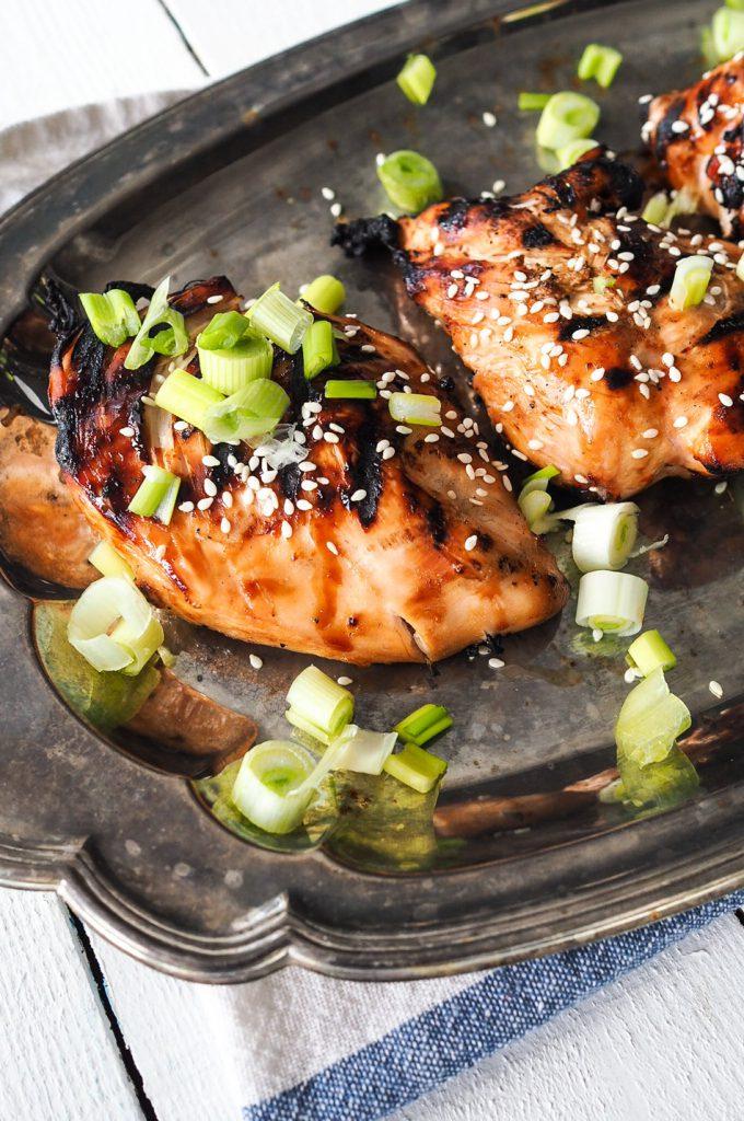 tahmea kana grillistä