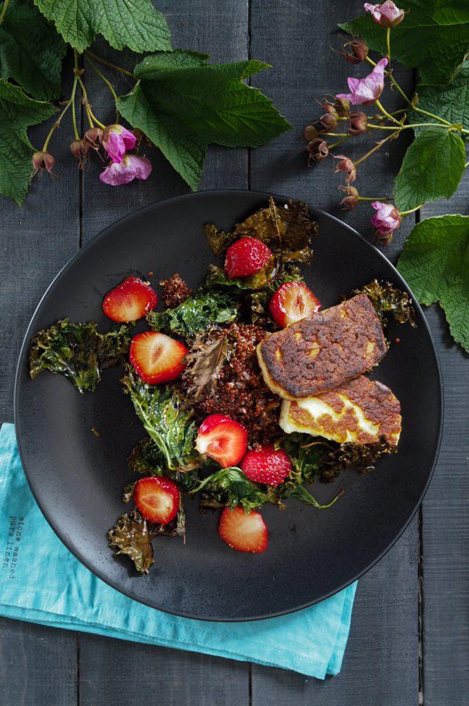 terveellinen salaatti