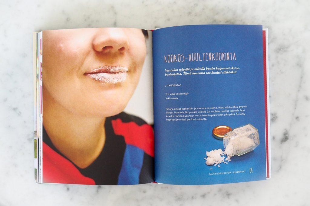 Kookos-huultenkuorinta-Onnen-huokauksia-kirjasta