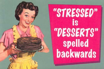 stressed is desserts