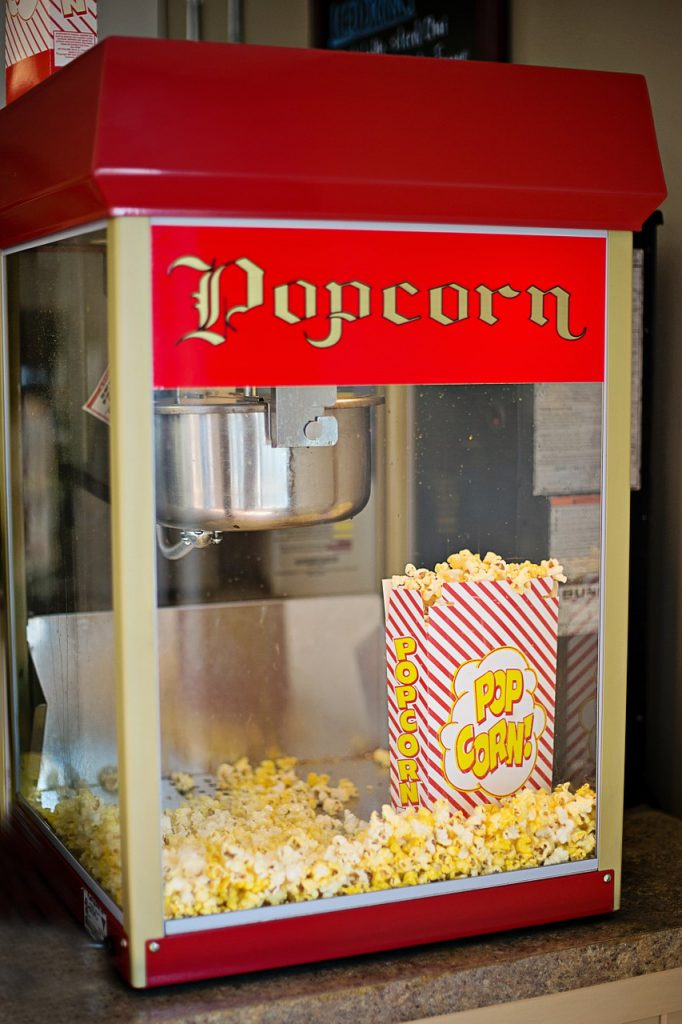 popcorn-machine CC0 Public Domain