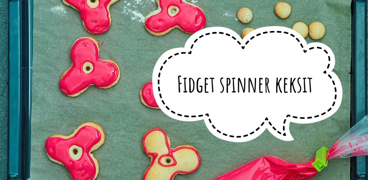 Fidget spinner keksit