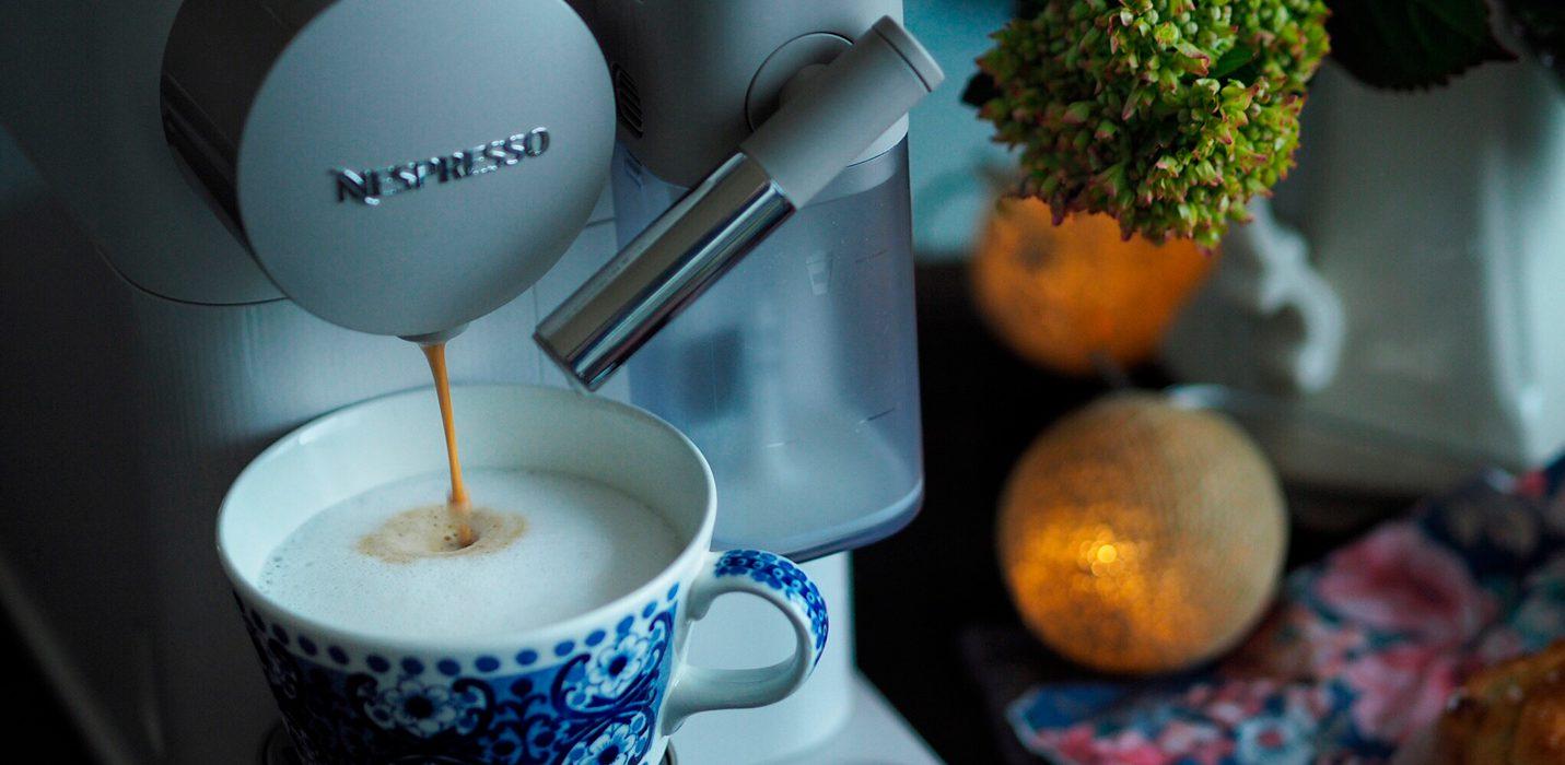 Suklainen Nespresso Latte Macchiato
