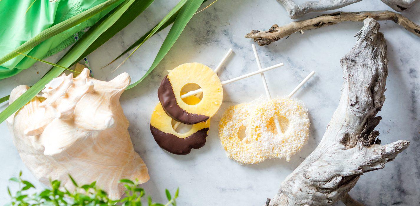 Raikkaat ananas-kookos-jäätelöt