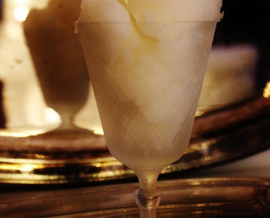 Champagne sorbet