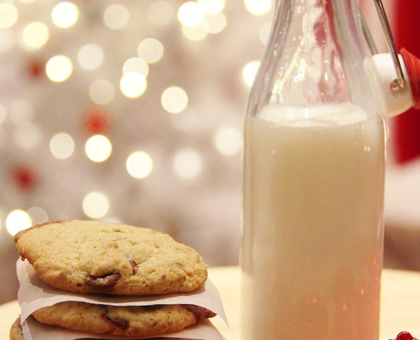Suklaiset joulukeksit