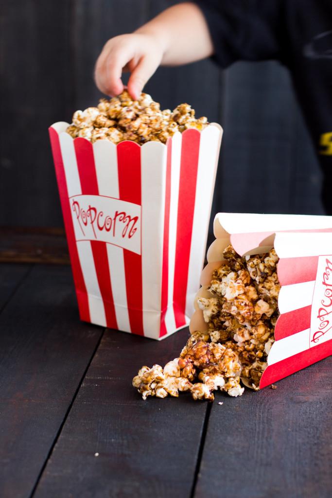 karamelli popcornit