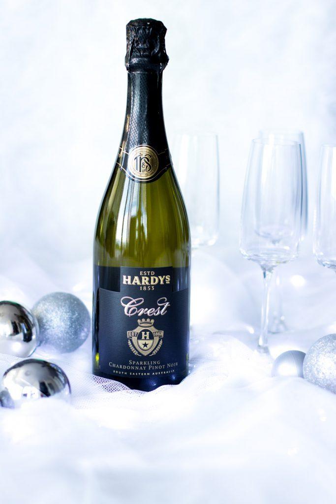 hardys-crest-sparkling-chardonnay-pinot-noir-juhlakauden-kuohuva