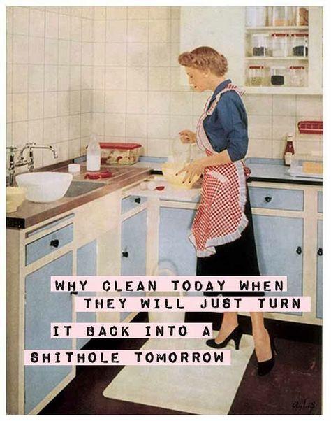 housewife shithole