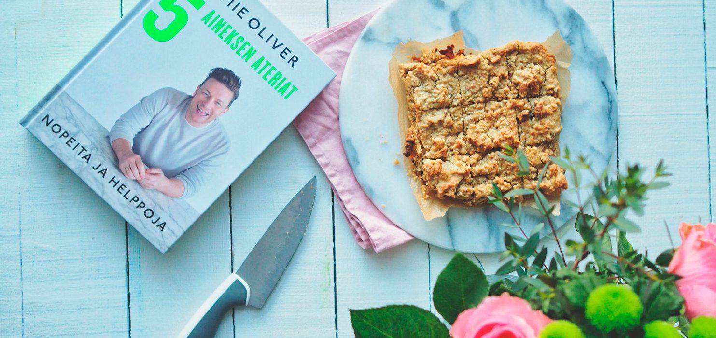 Jamie Oliver – 5 aineksen ateriat – Nopeita ja helppoja