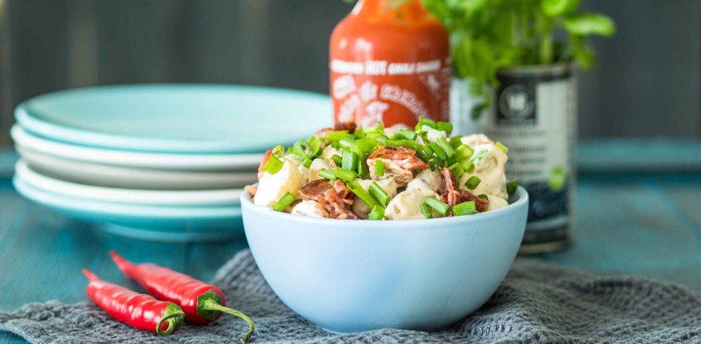 Sriracha-perunasalaatti