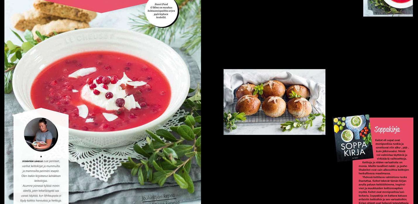 Sweet Food O`Mine Kotiblogit-lehdessä