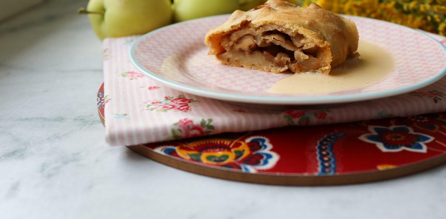 Apfelstrudel eli omenastruudeli