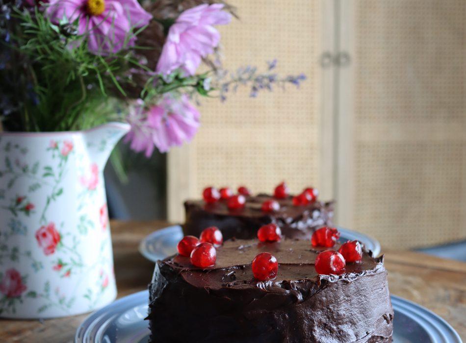 Mehevä suklaakakku – aivan kuin kahviloissa